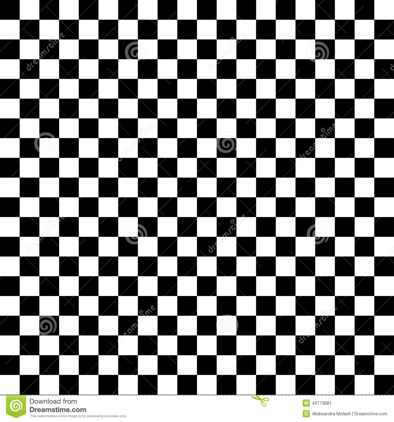 Black and white checkered abstract background stock vector - Cuadro blanco y negro ...