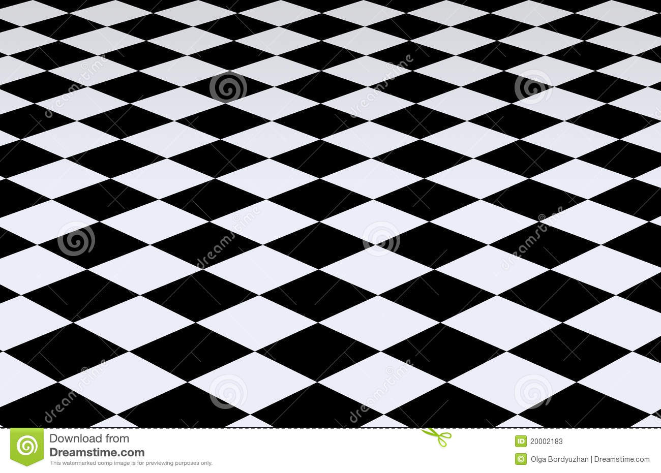 black and white checkered background stock illustration