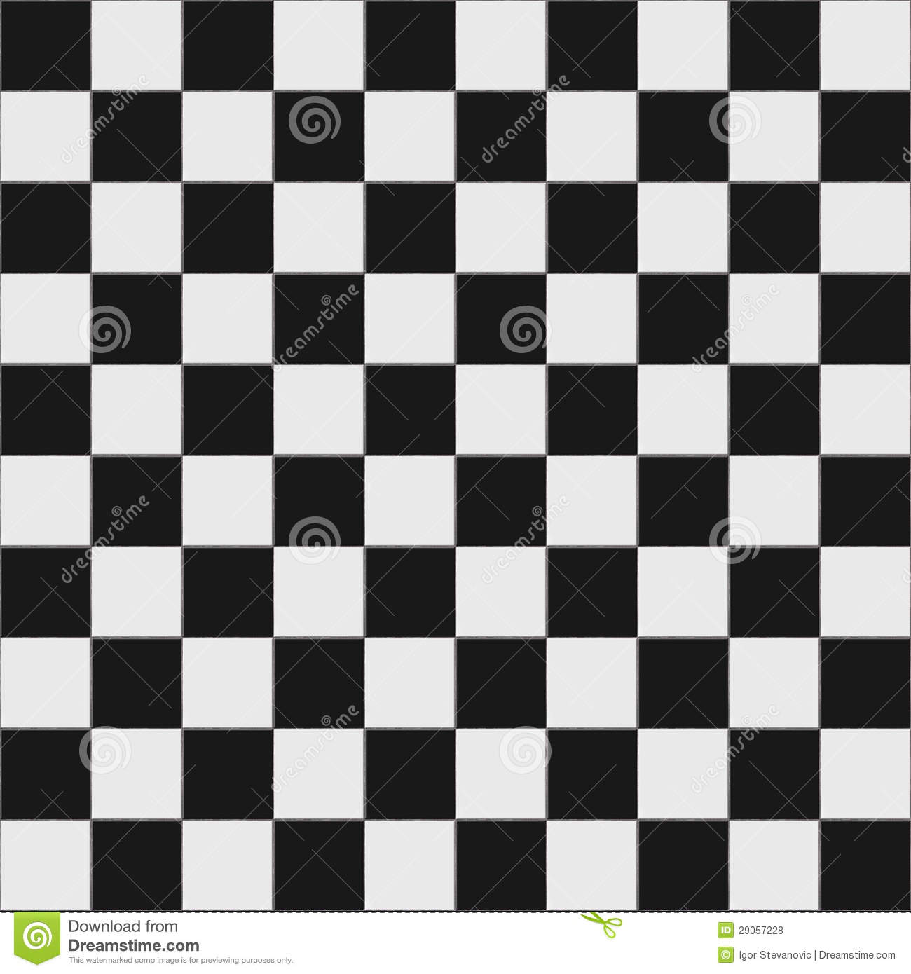 Seamless black and white checkered texture stock images image - Black Checkered Floor Pattern