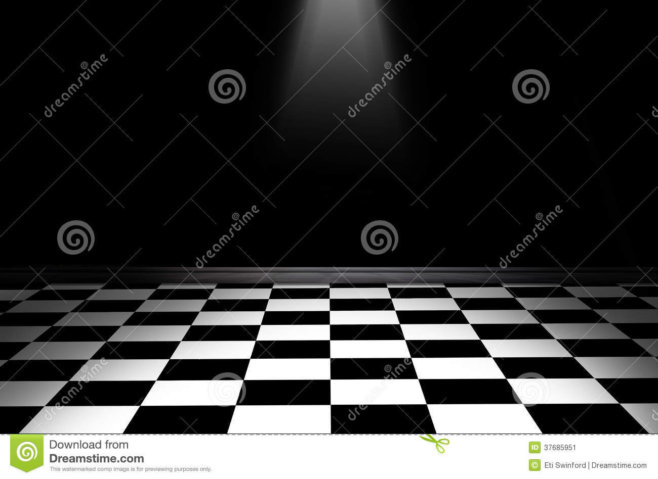 Seamless black and white checkered texture stock images image - Black And White Checkered Floor Stock Image