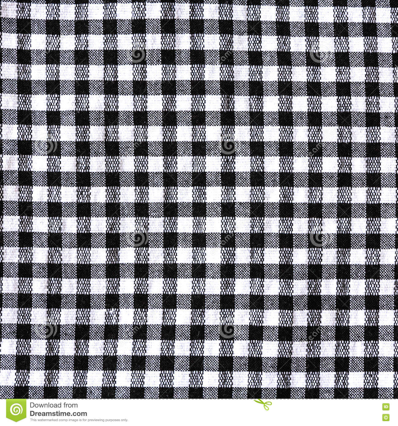 Royalty Free Stock Photo. Download Black And White Checkered Tablecloth ...