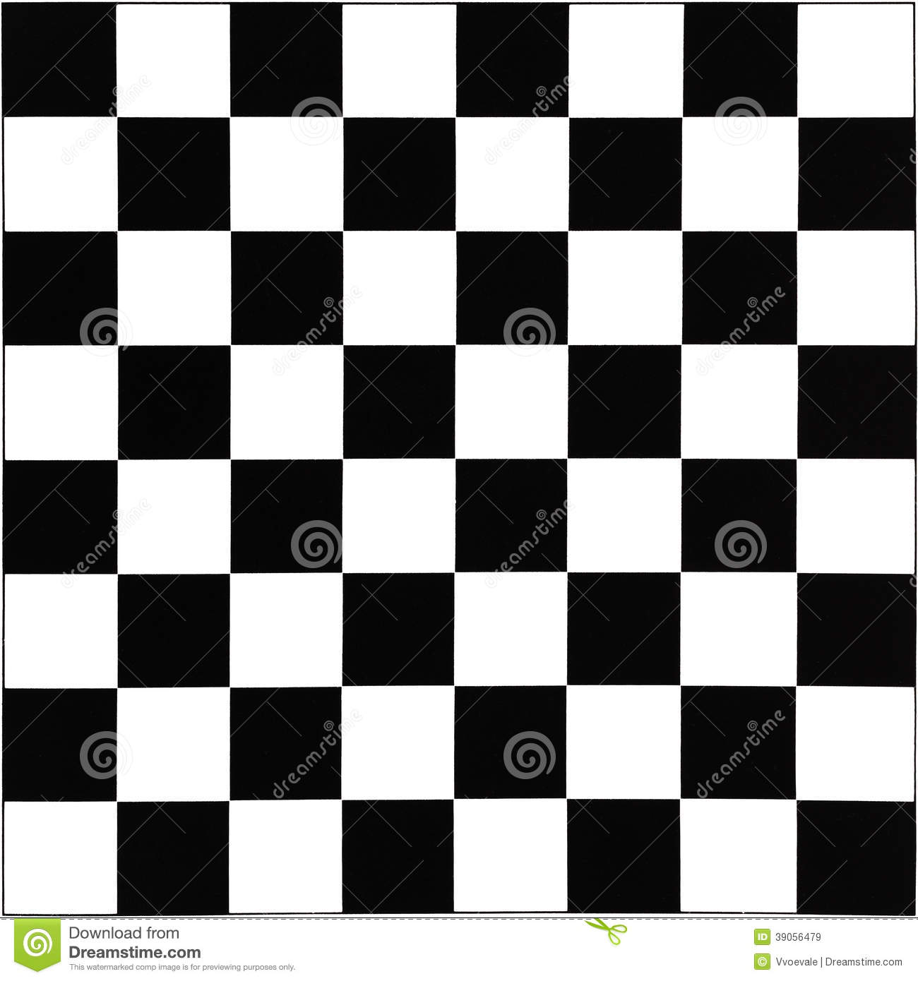 Chess Board Design Black And White Chessboard Stock Photo Image 39056479