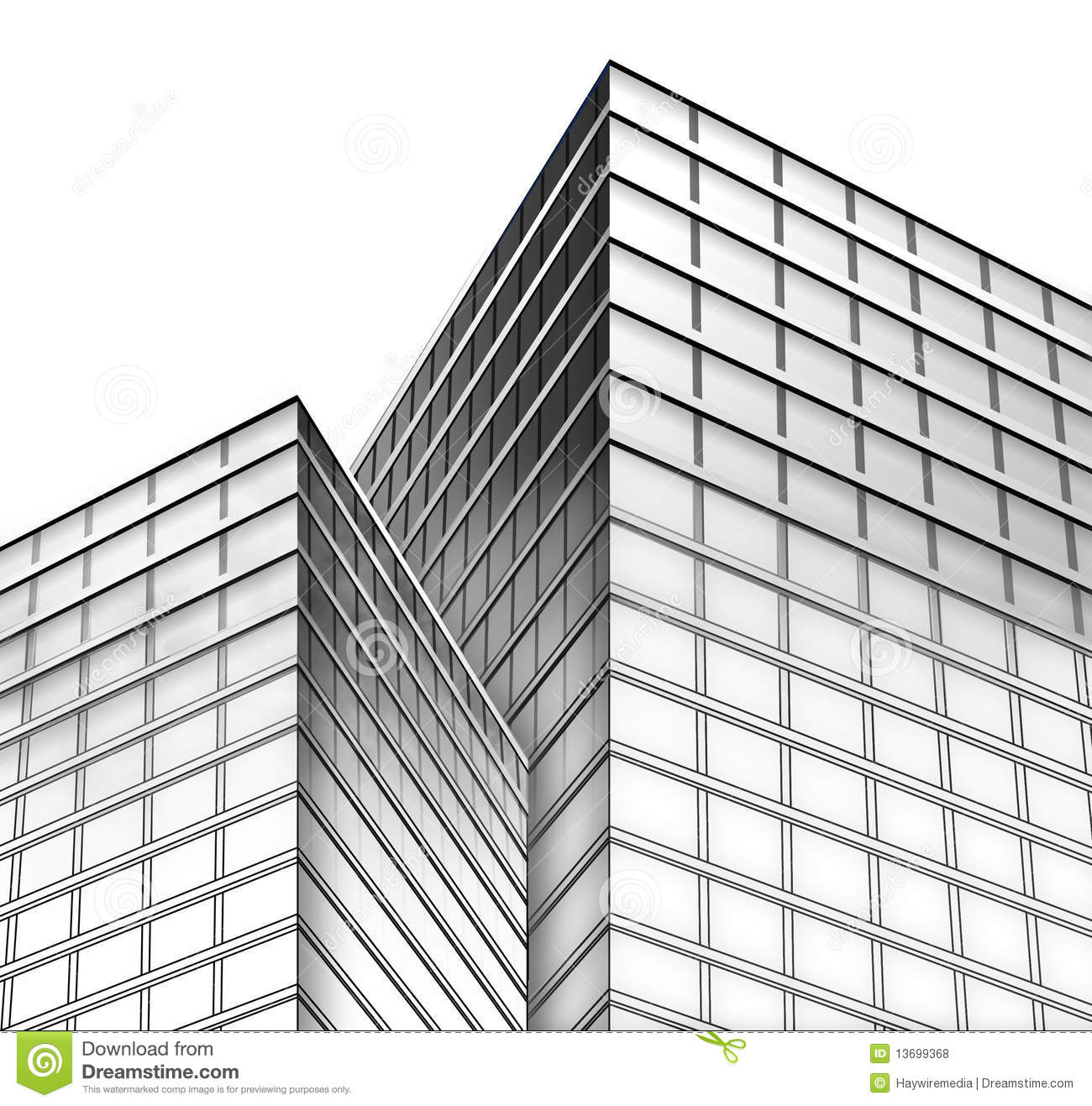 Royalty free stock photos black and white city buildings