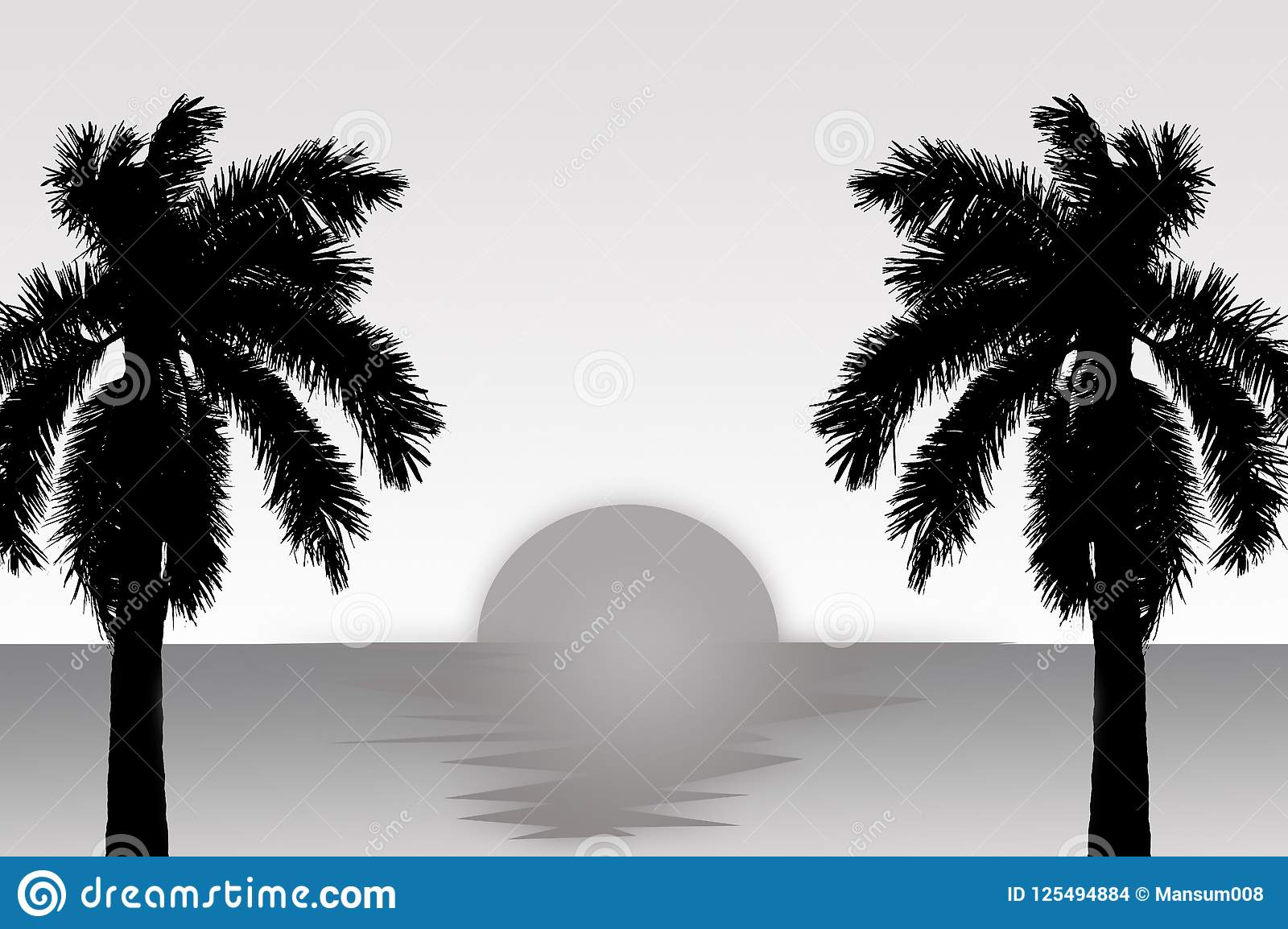 Black White Coconut Tree Stock Illustrations 6 177 Black White Coconut Tree Stock Illustrations Vectors Clipart Dreamstime