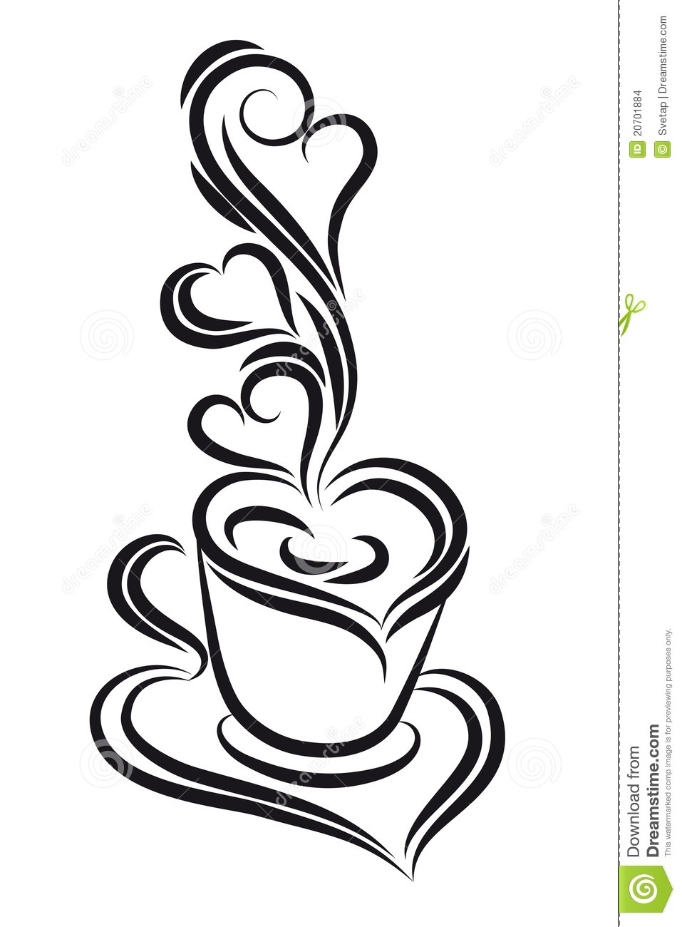 More similar stock images of ` Black and white coffee cup . `