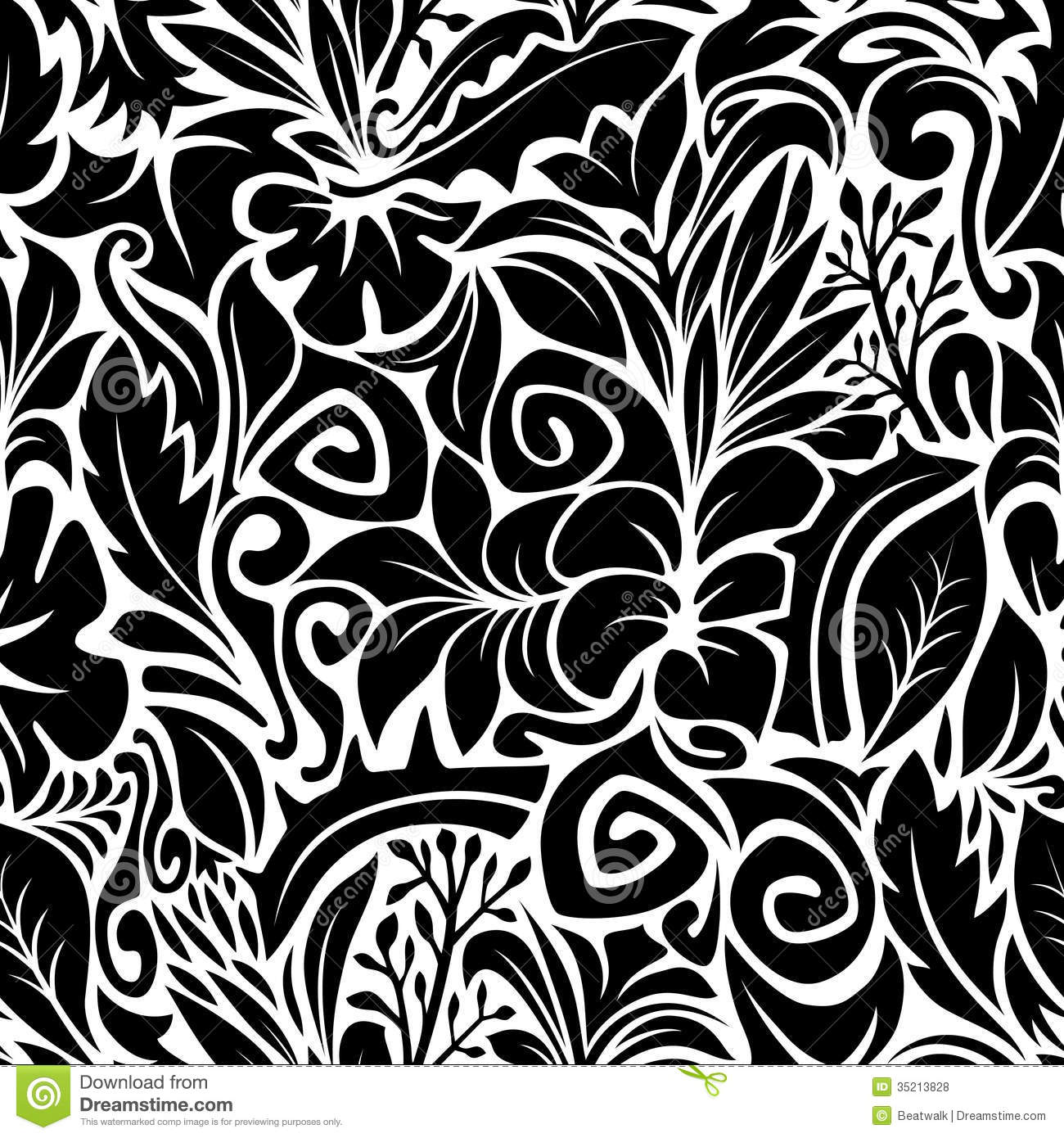 Cool black and white patterns vector - photo#19