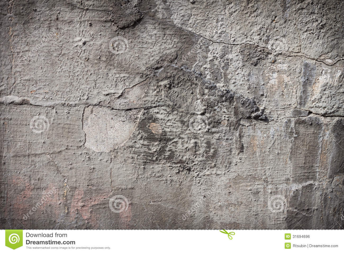 Black And White Cracked Wall Texture Royalty Free Stock ...