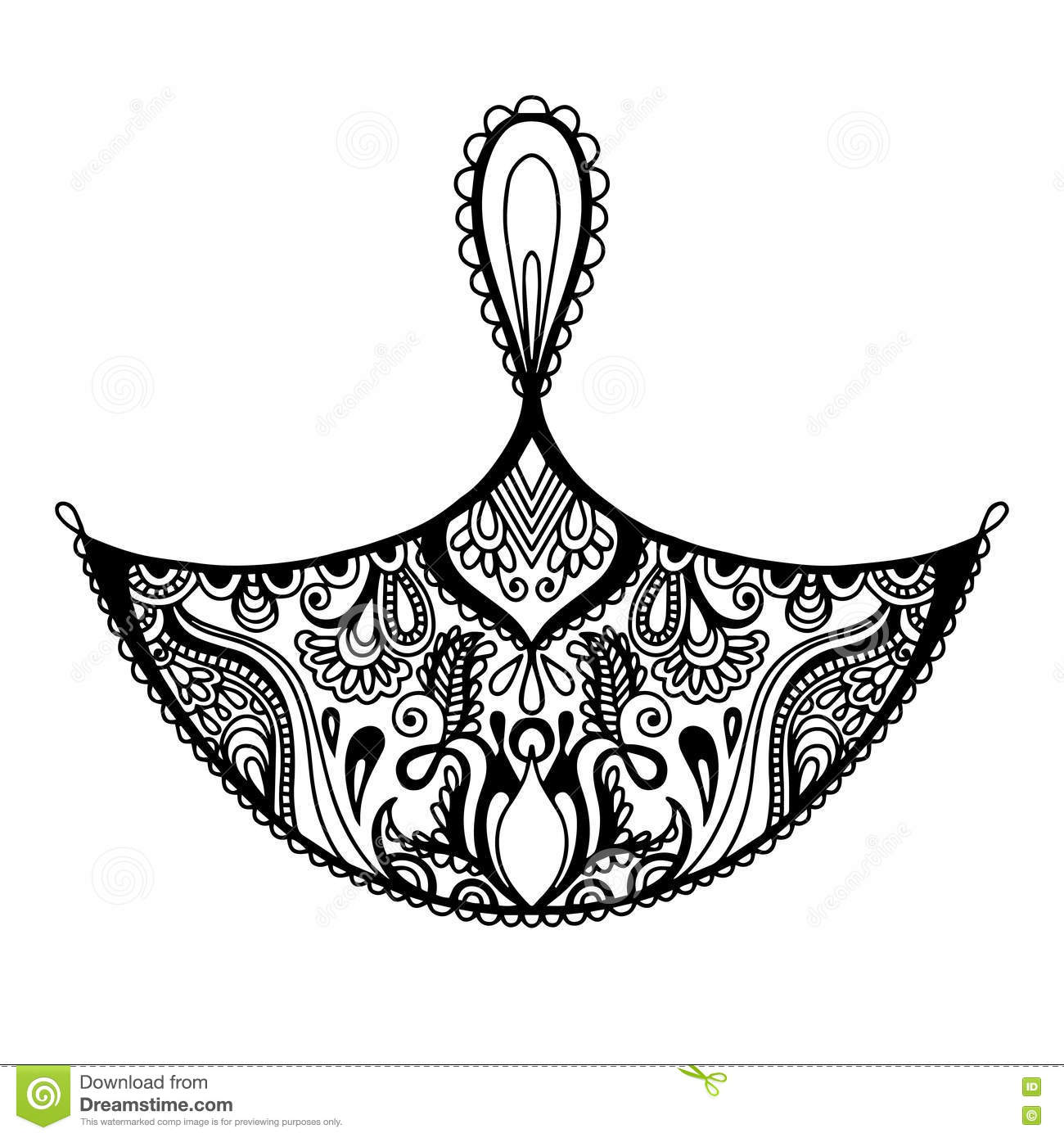 Black And White Decorative Design Element Of Candle To Indian Di ... for diwali festival black and white images  103wja