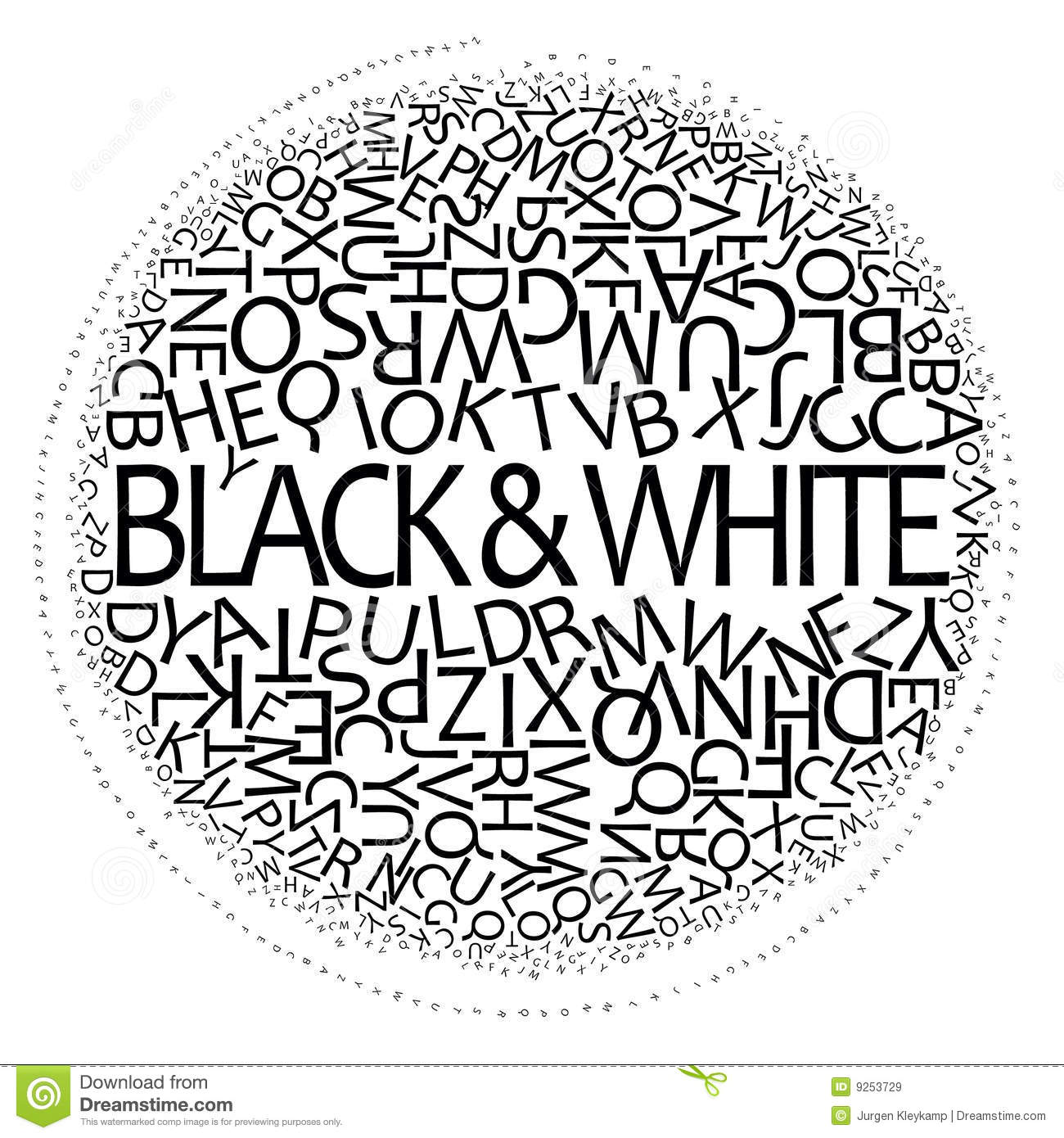 Black and white design