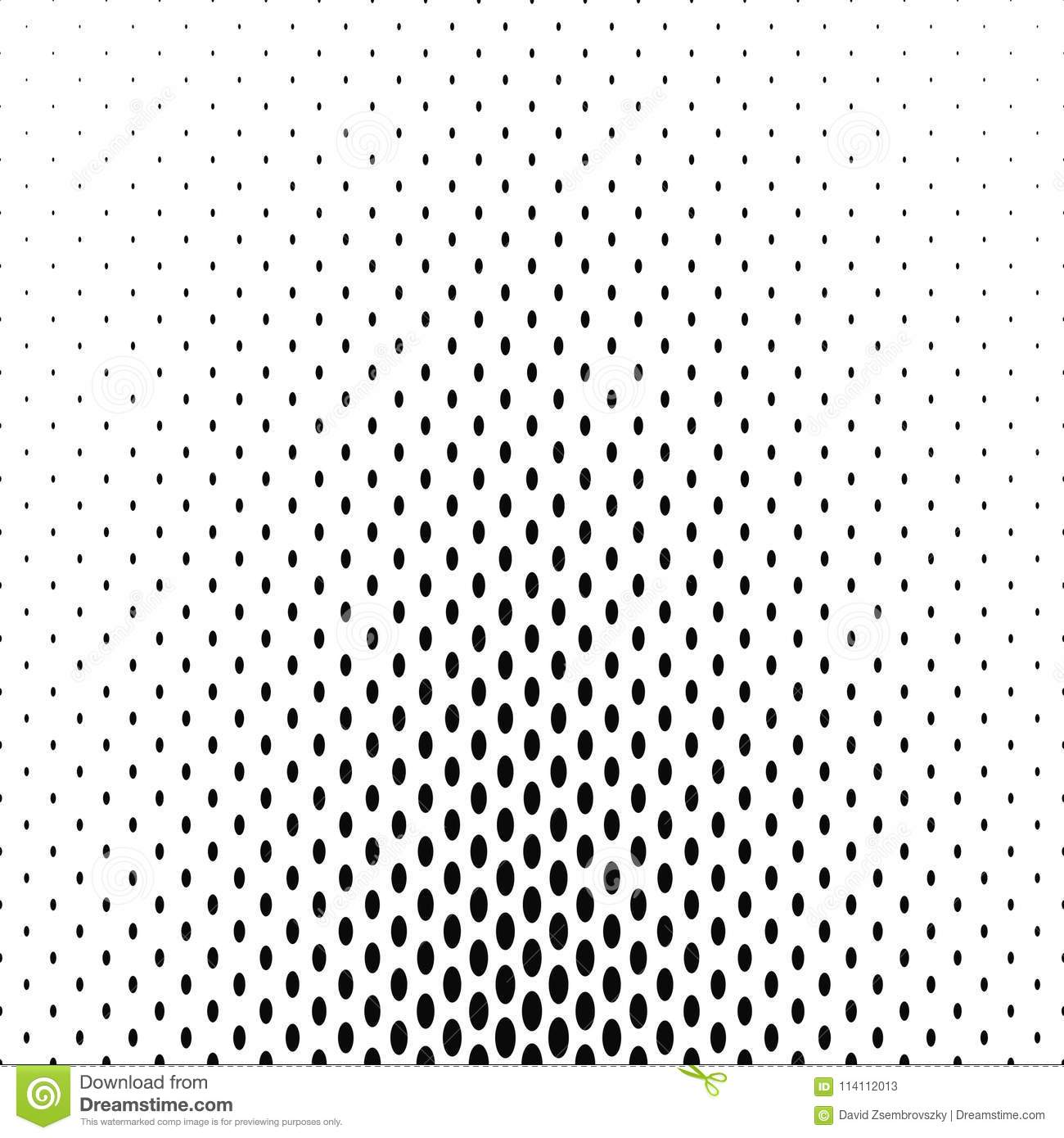 Black And White Ellipse Pattern Background Stock Vector ...
