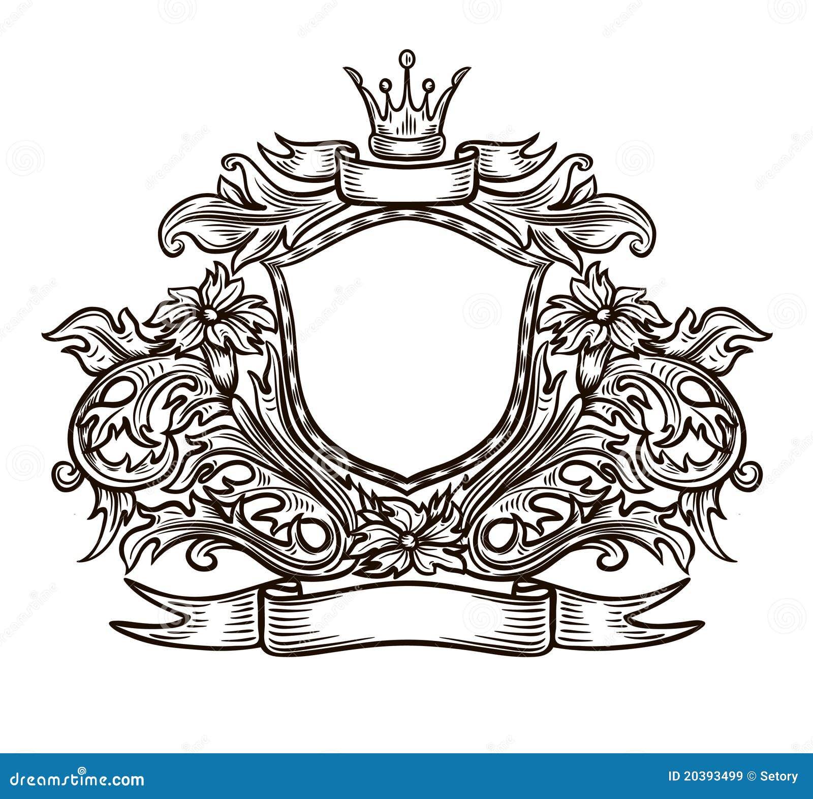 Black And White Emblem Royalty Free Stock Images Image