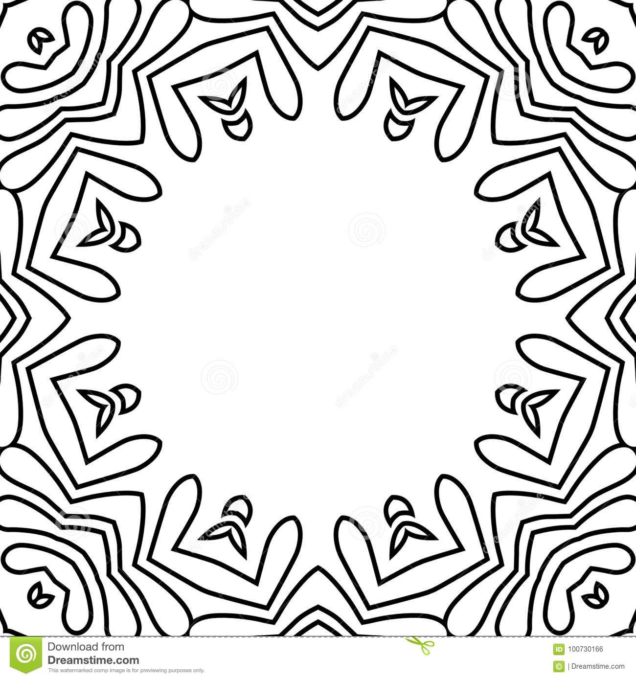 Black and white flower frame tecture stock illustration download black and white flower frame tecture stock illustration illustration of pattern illustration mightylinksfo