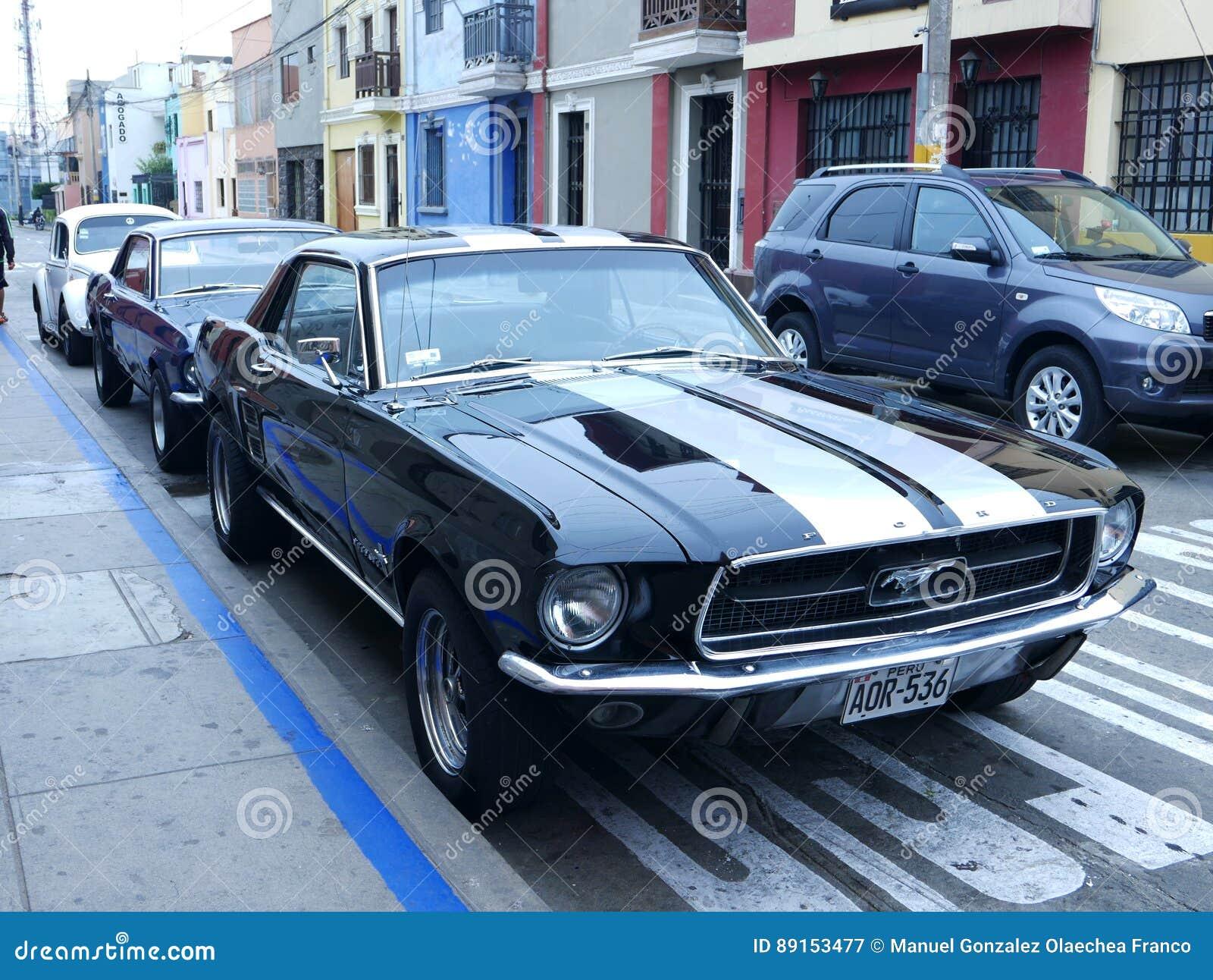 Ford Mustang 1969 Peru