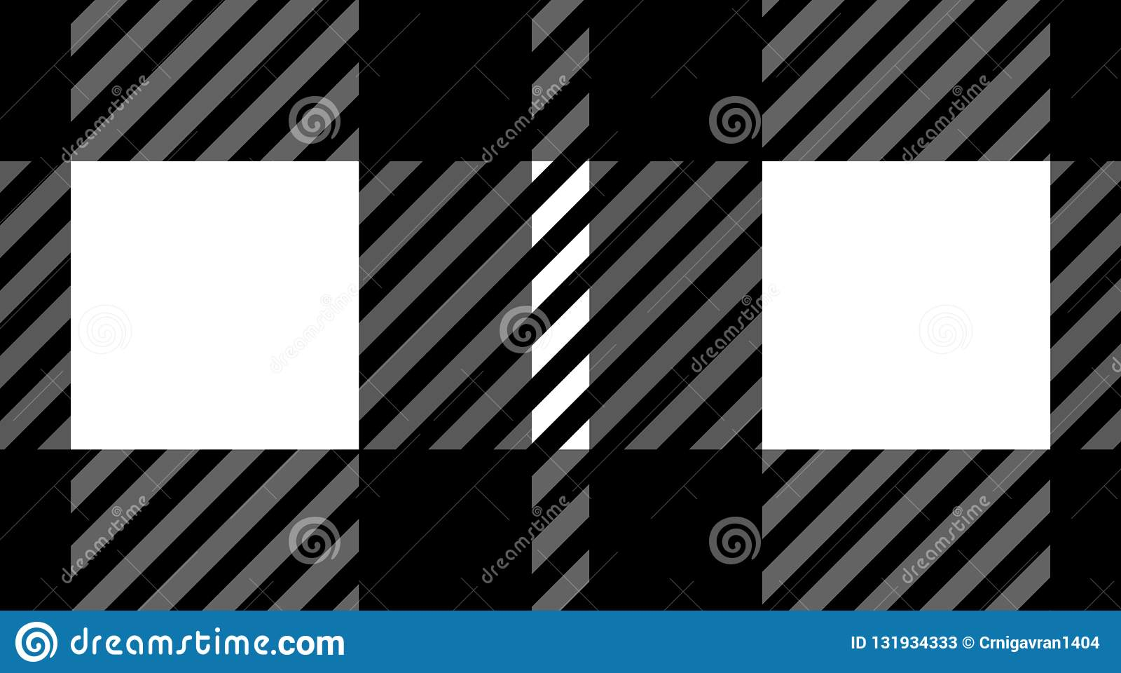 Black and white gingham pattern background for plaid,tablecloths for textile articles,vector illustration.EPS-10.