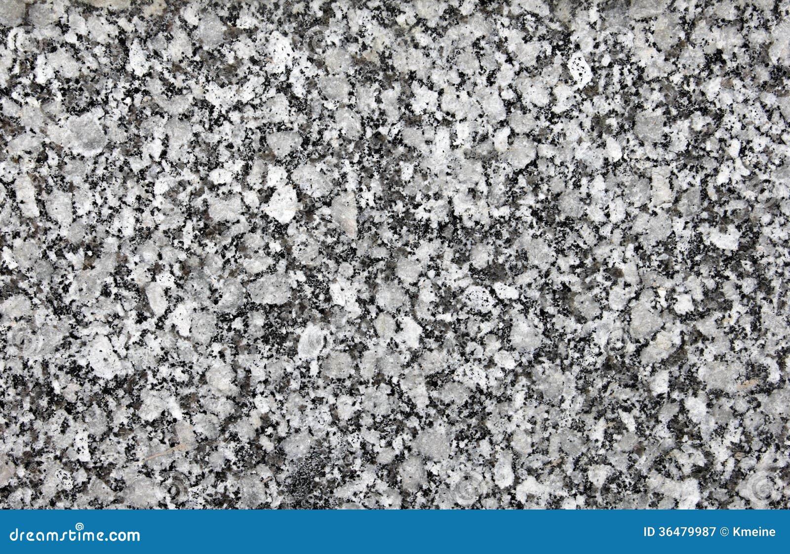 Black And White Granite : Black and white granite background stock image