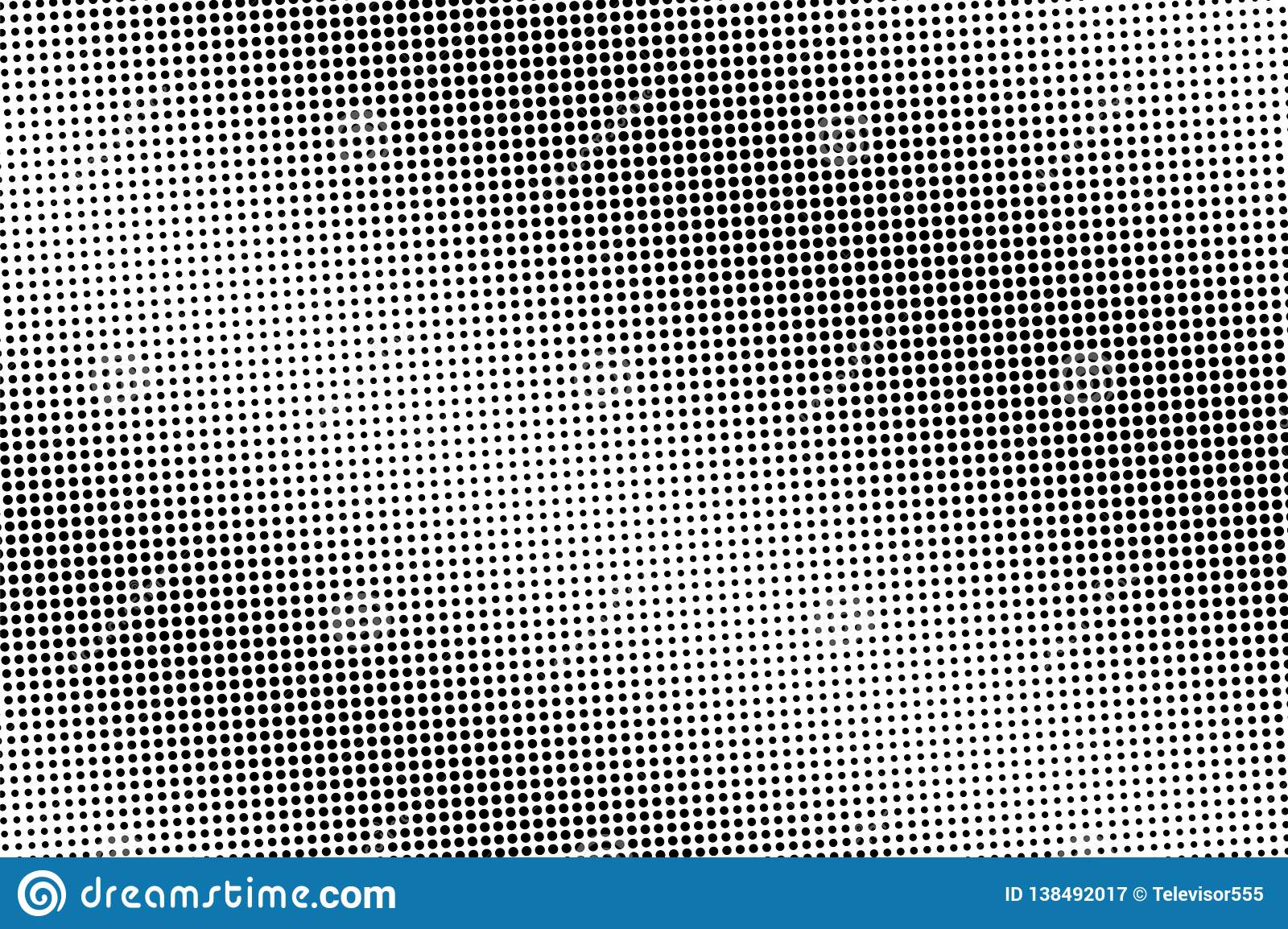 Black and white halftone vector. Diagonal dotted gradient. Vintage perforated texture. Retro style overlay