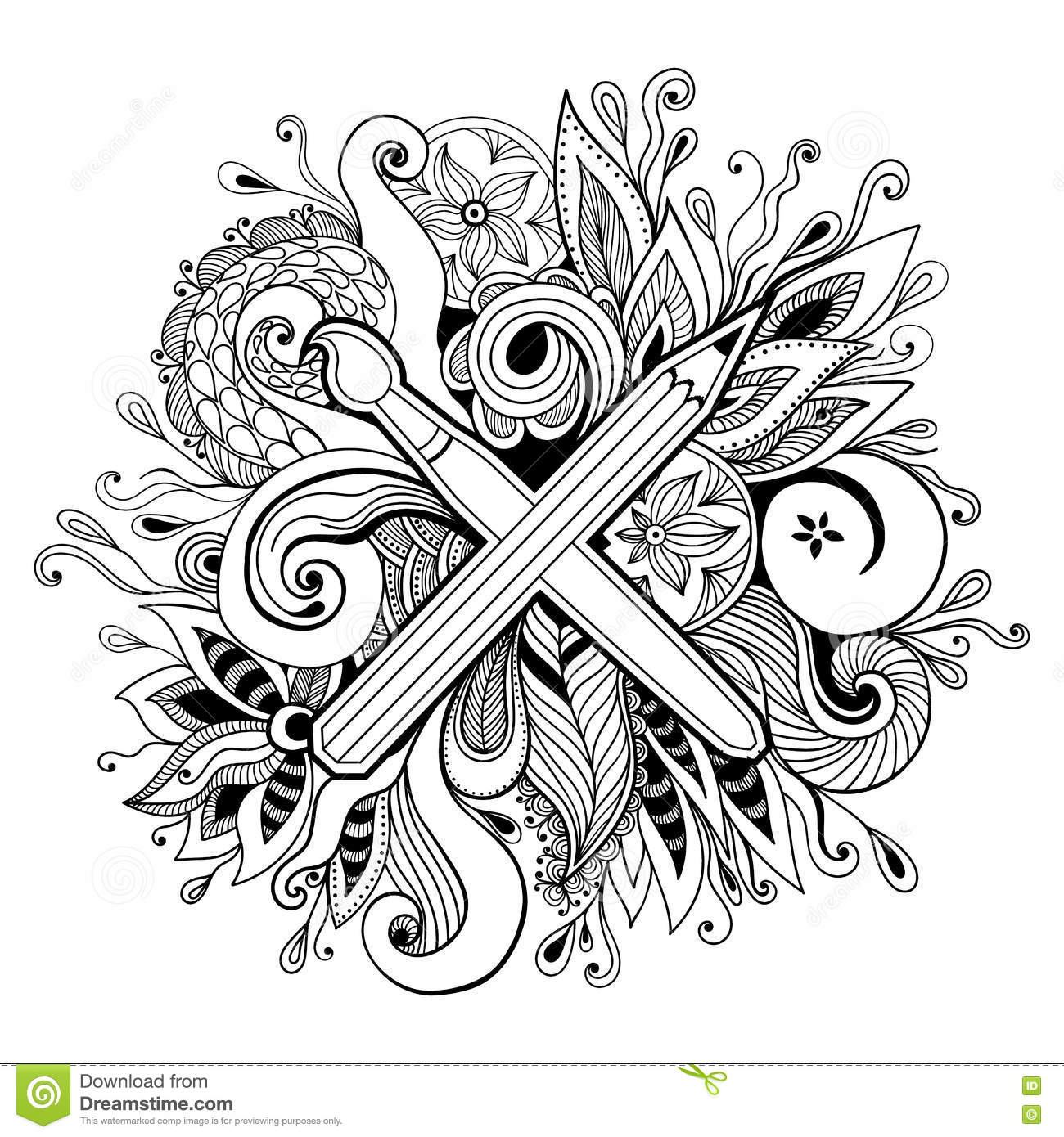 Creativity clipart black and white