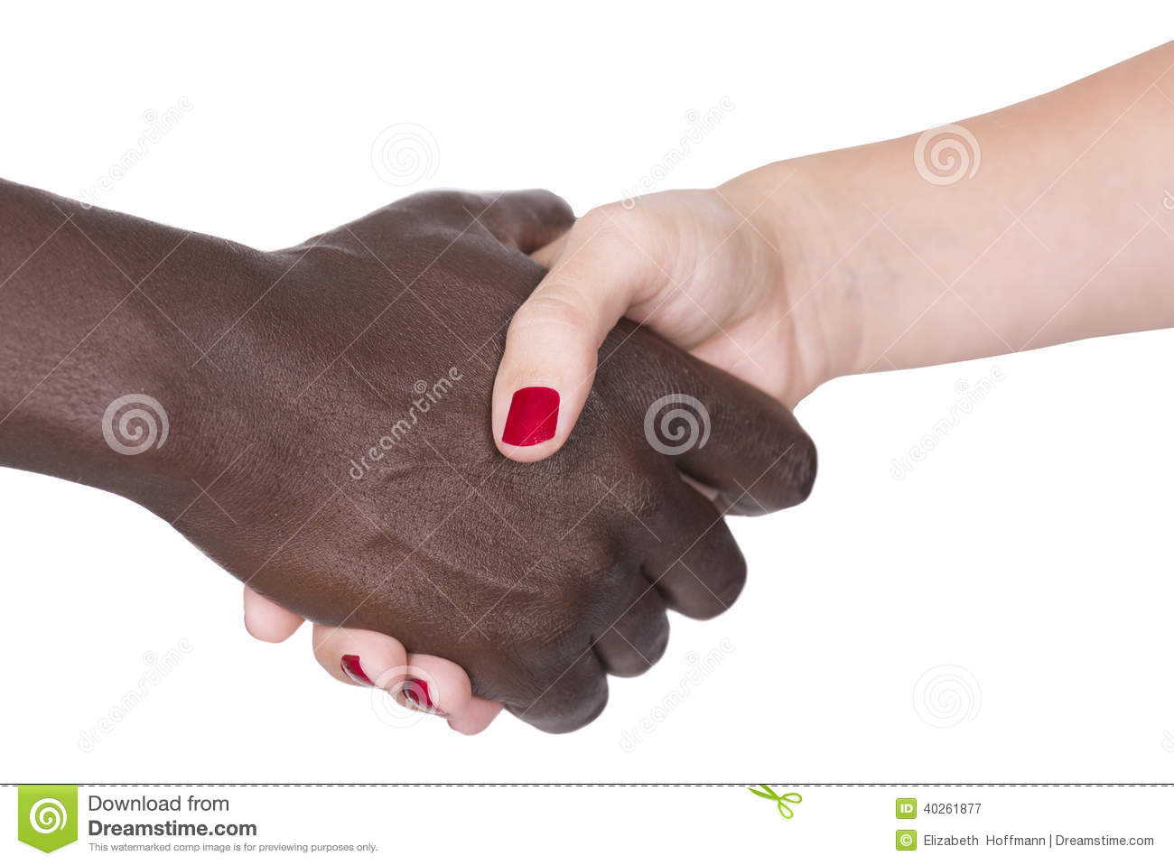 Black And White Hands Stock Photo - Image 40261877-2853