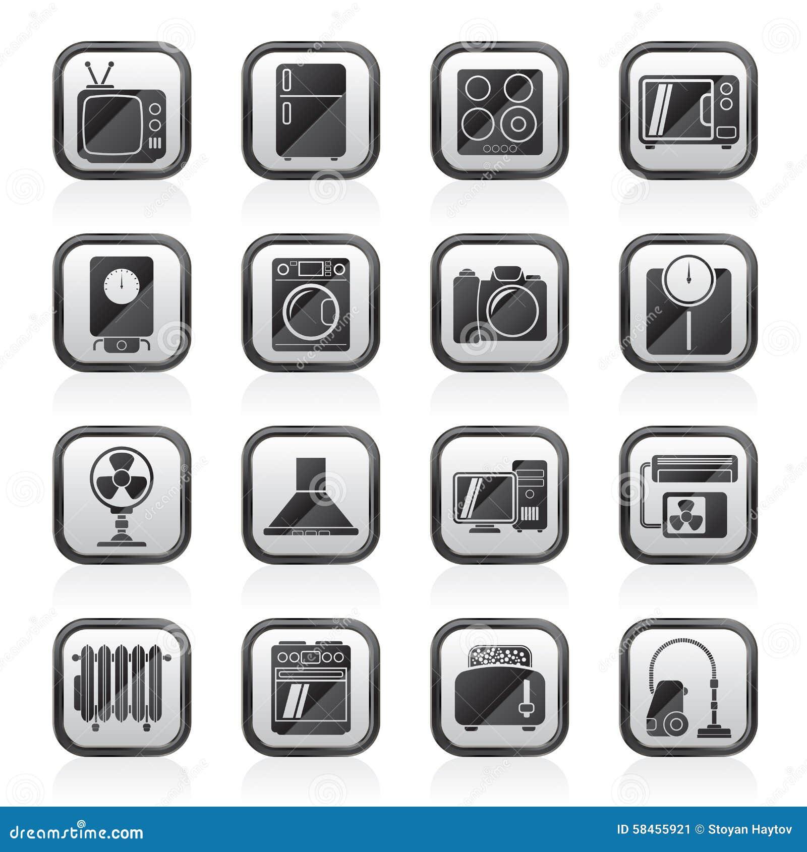 Home icon vector black