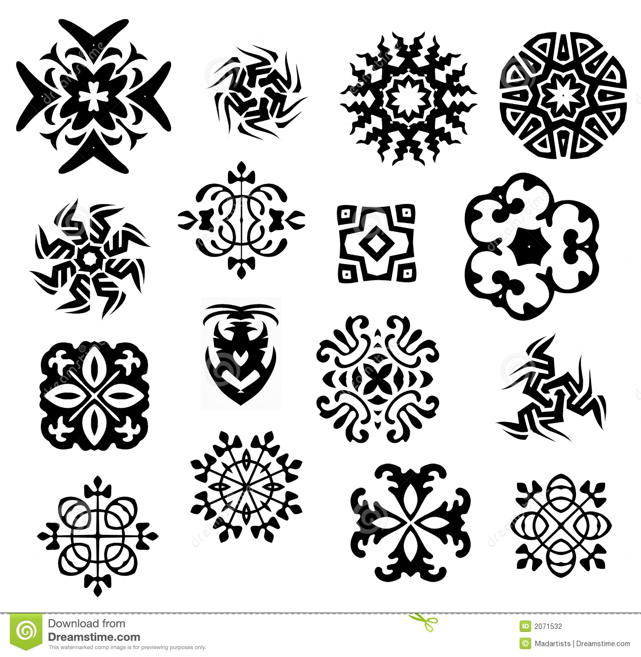 Black and white icons patterns stock photography image for Cool designs in black and white