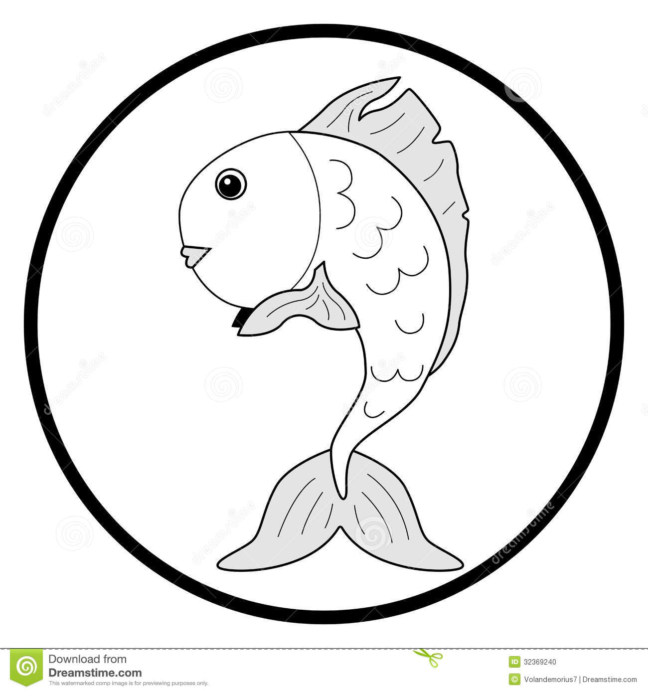 32  Best Goldfish Clipart Black And for Goldfish Clipart Black And White  585hul