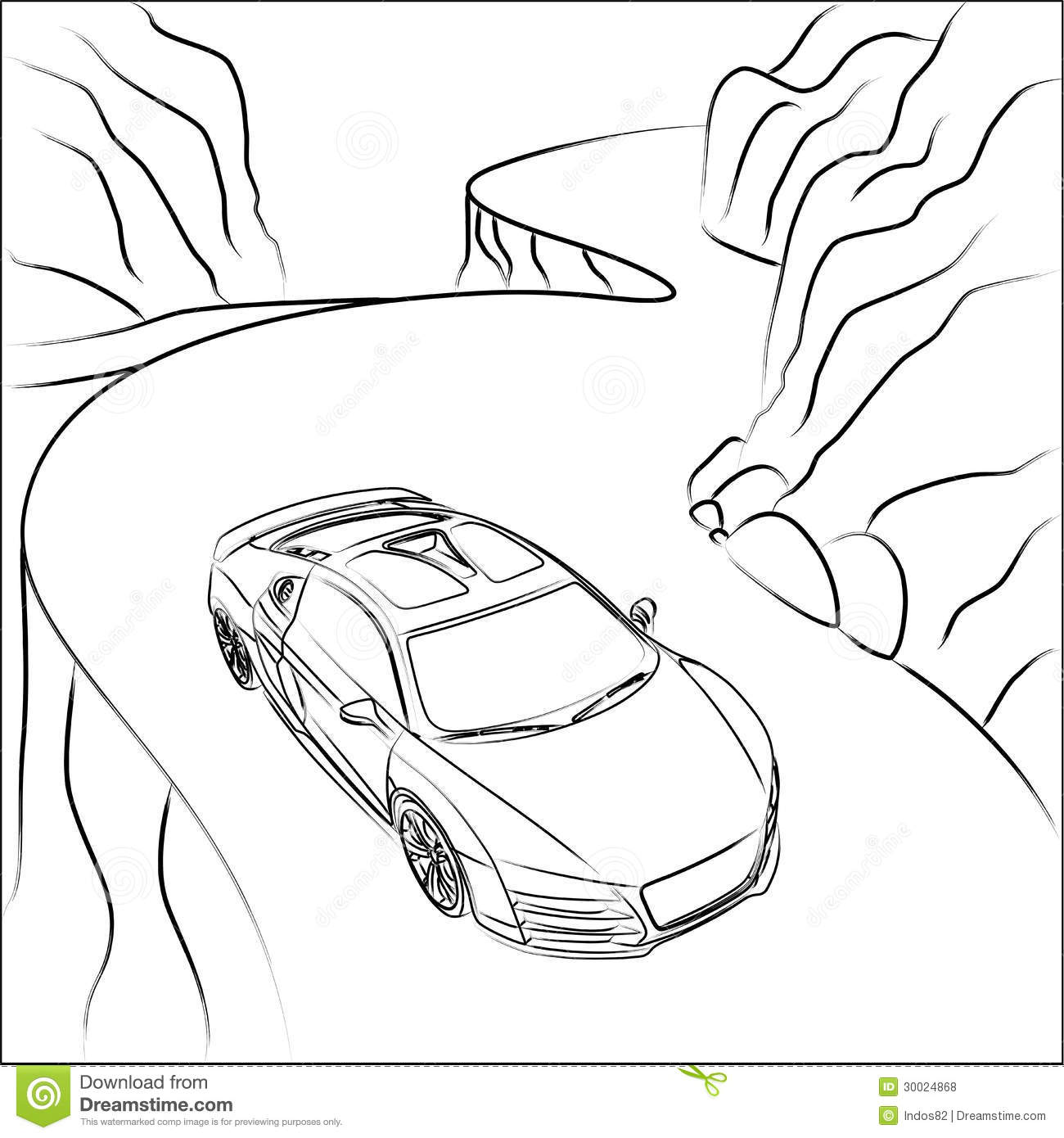 Excellent How To Draw A Car On A Road Photos - The Best Electrical ...