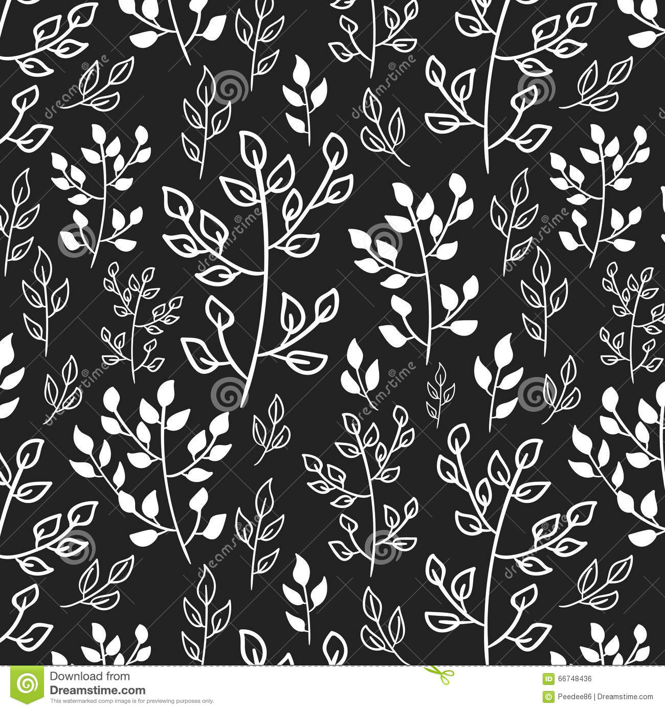 White and Black background designs patterns forecast to wear in winter in 2019