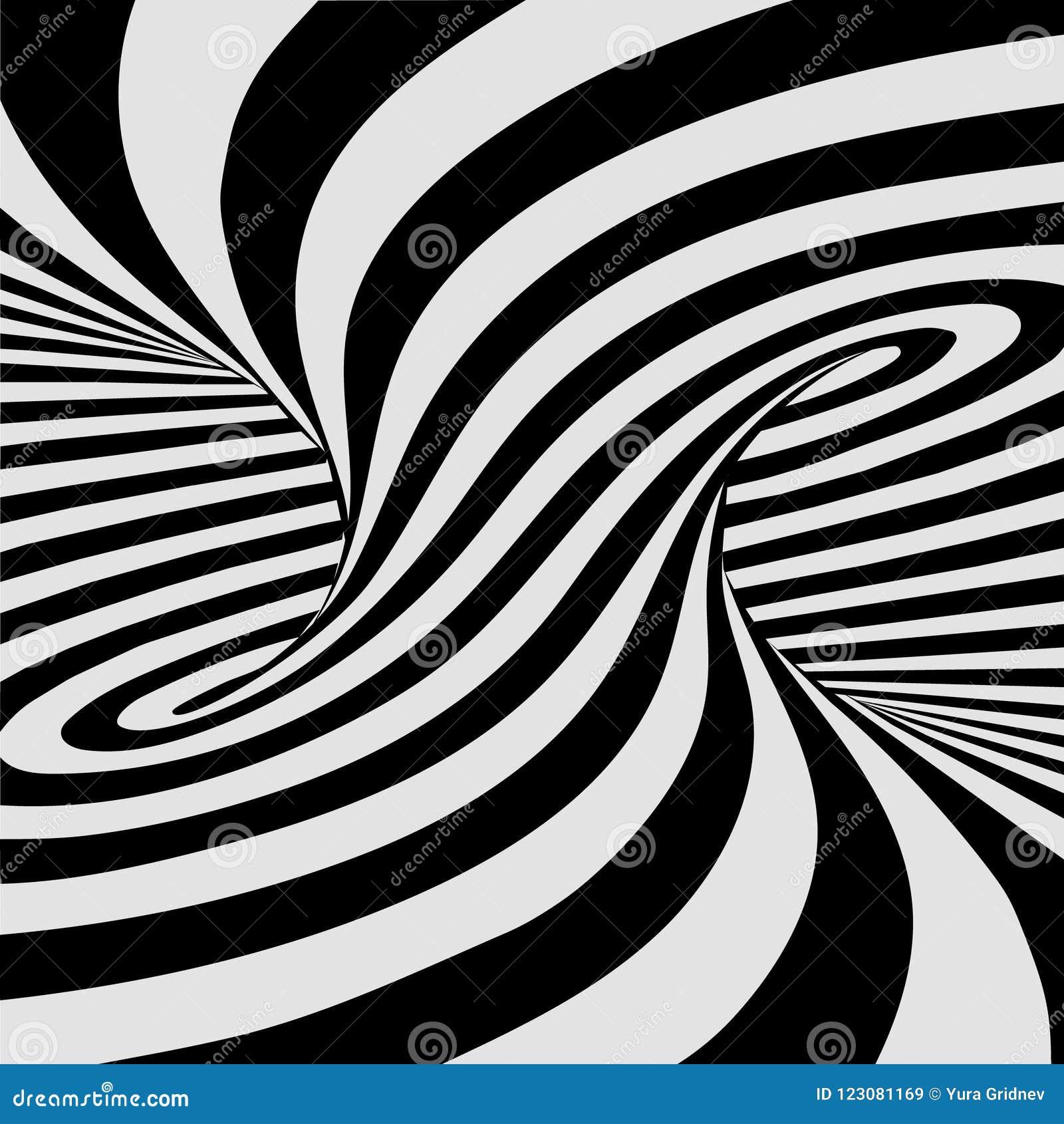 Horizontal Optical Illusion Public Domain Mark Black And White Lines Optical Illusion Horizontal Background