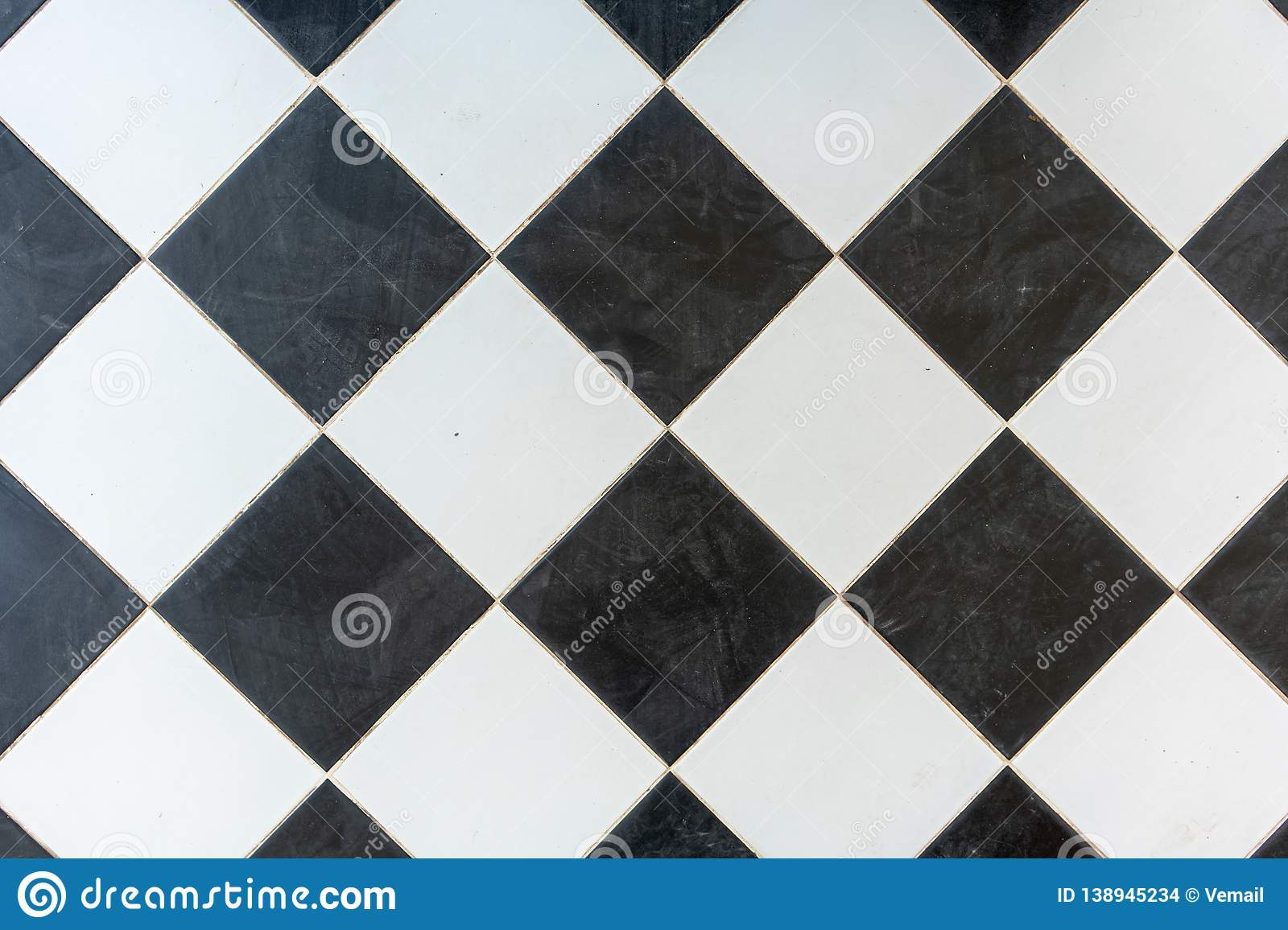 Black and white marble bricks wall background , seamless marble wall pattern , for Interiors design