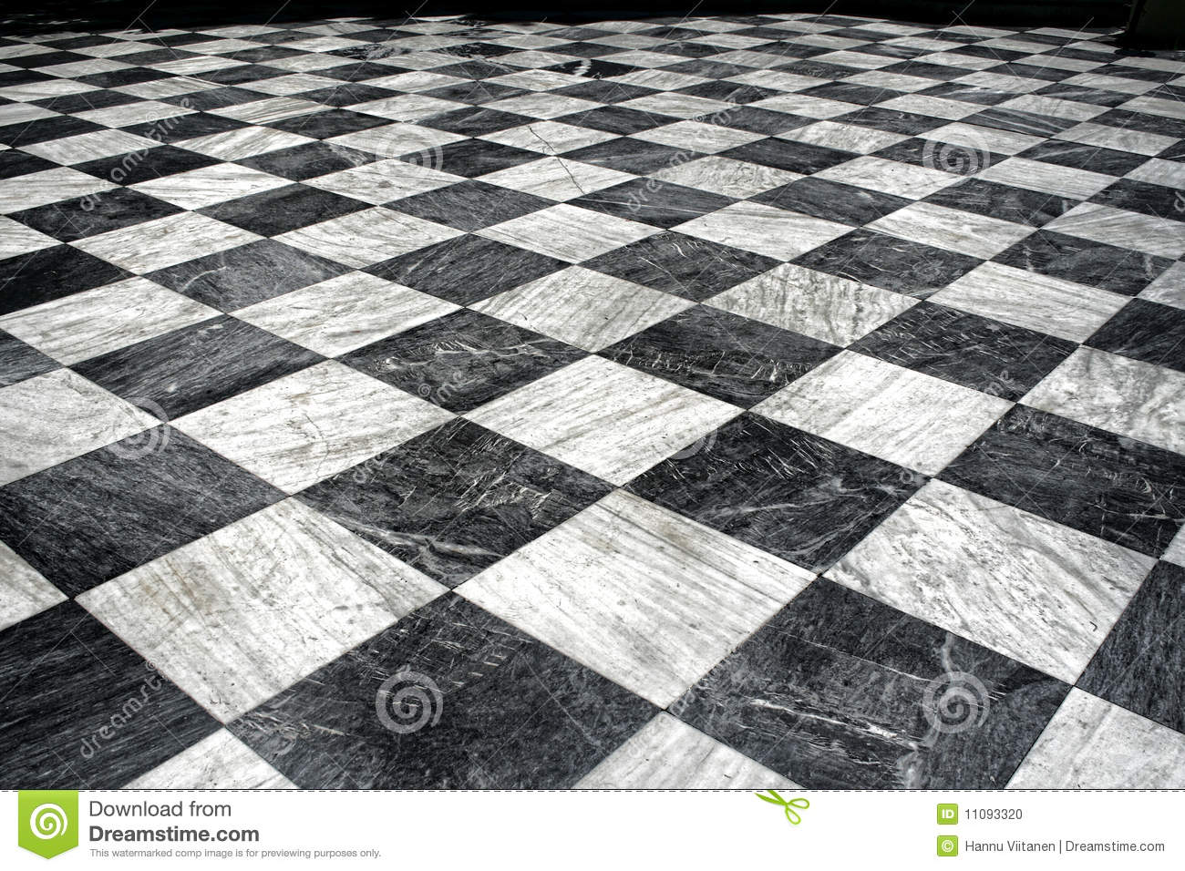 Black And White Marble Floor Stock Photo Image 11093320