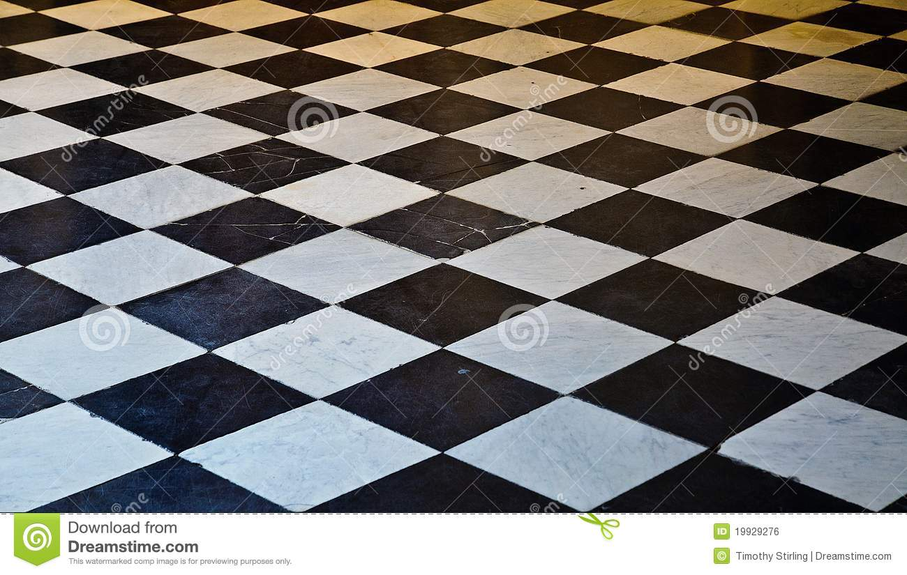Black and white marble floor stock photo image of for Black and white tile floors