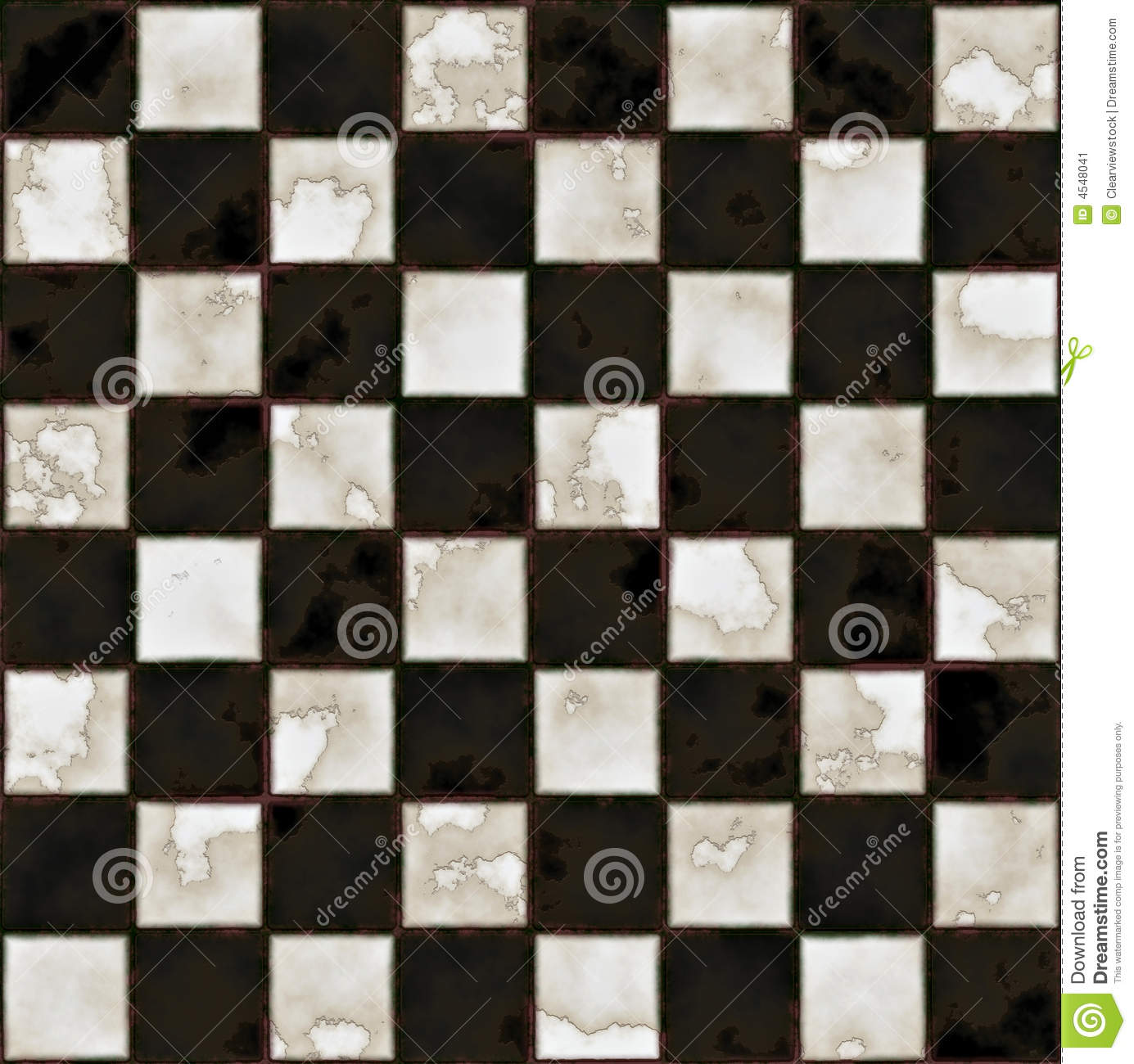 Black And White Marble Floor Stock Image Image 4548041