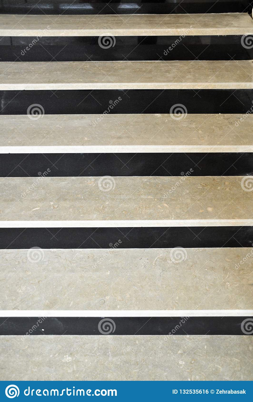 Black And White Marble Stairs Stock Photo Image Of Hall Blank 132535616