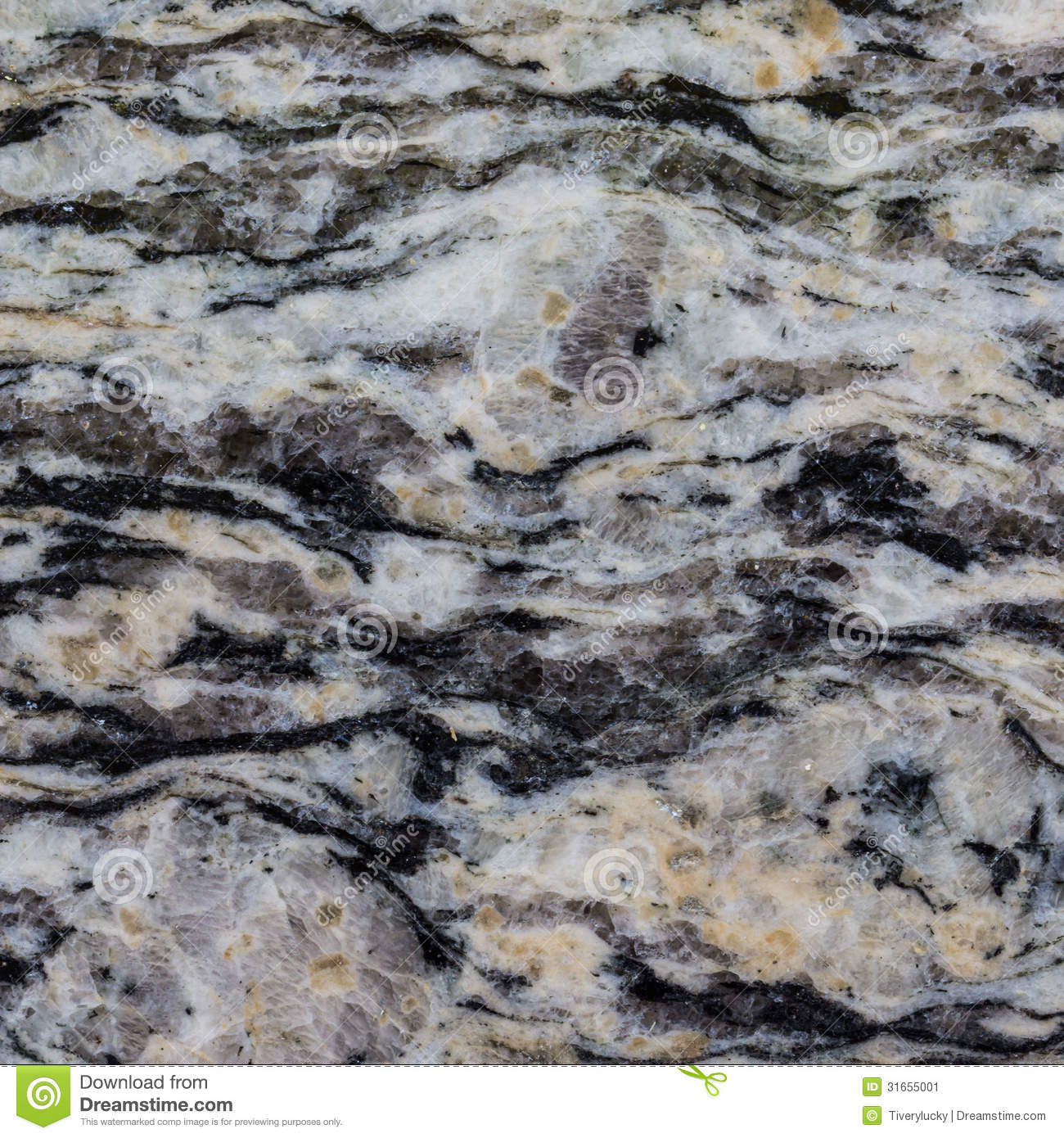Marble Stone Background : Black and white marble texture stock image