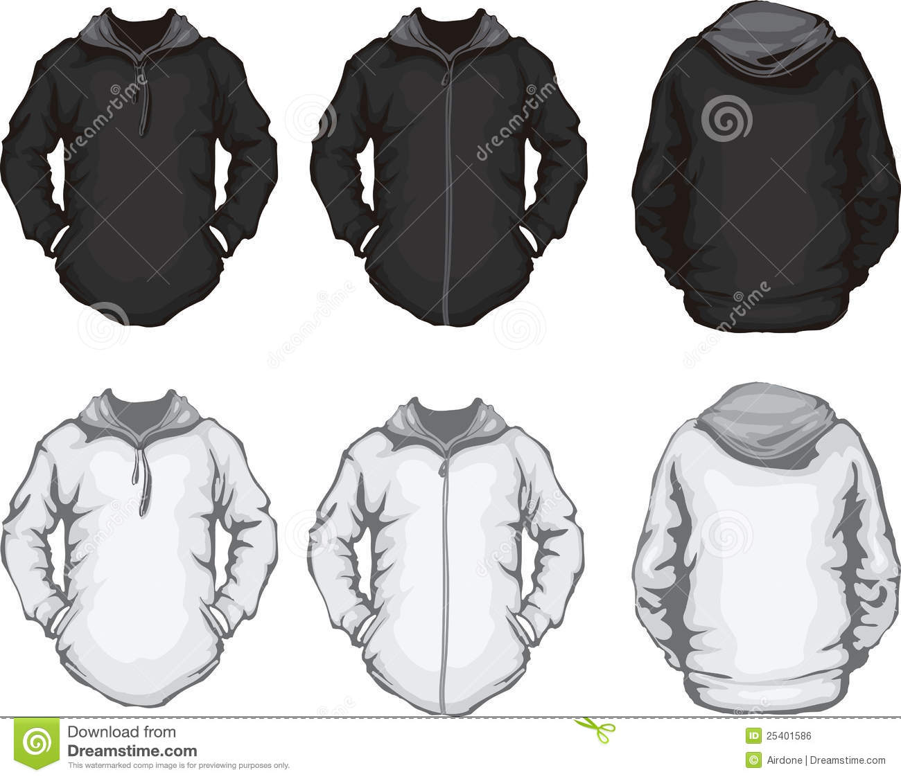 Men's Hoodie Design Template Royalty Free Stock Image - Image ...