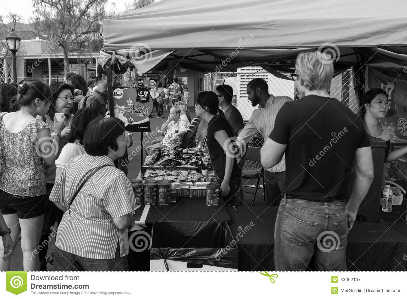 Black And White 626 Night Market Arcadia California