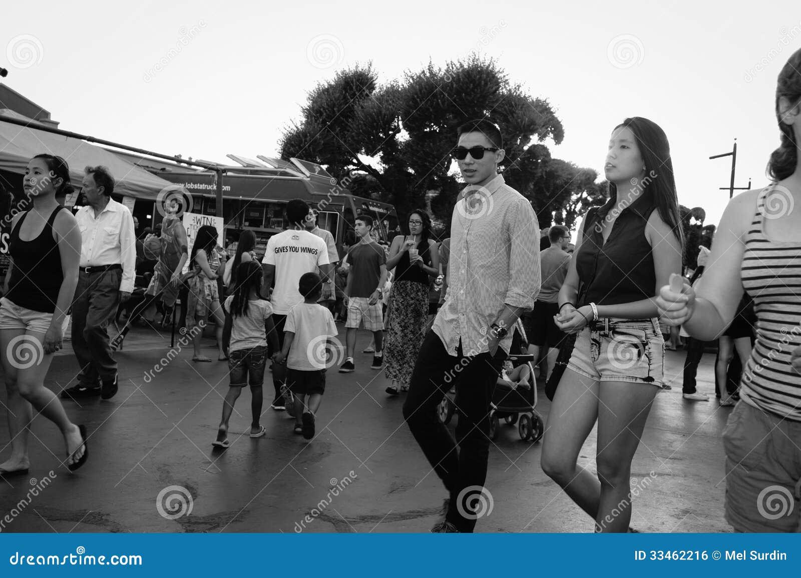 Black And White 626 Night Market Arcadia California