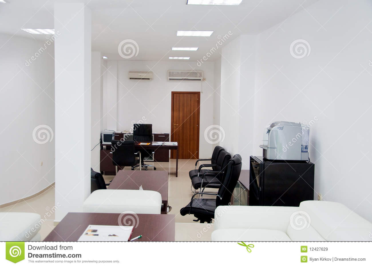 Black And White Office Royalty Free Stock Images Image