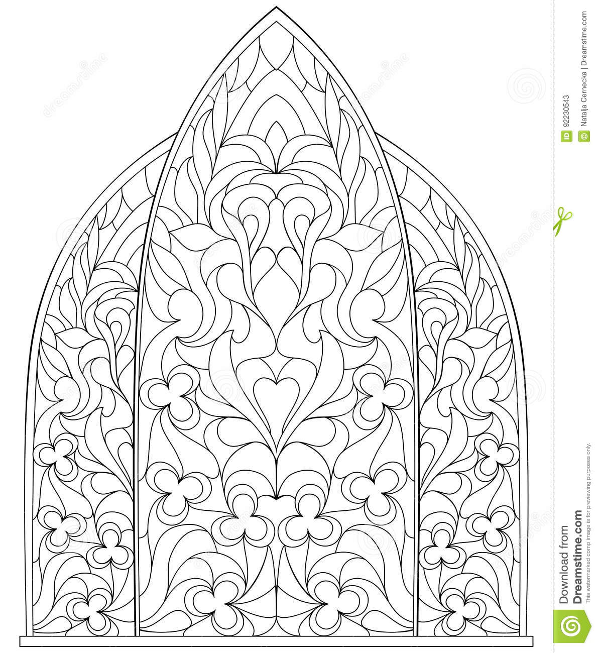 black and white page for coloring for children and adults