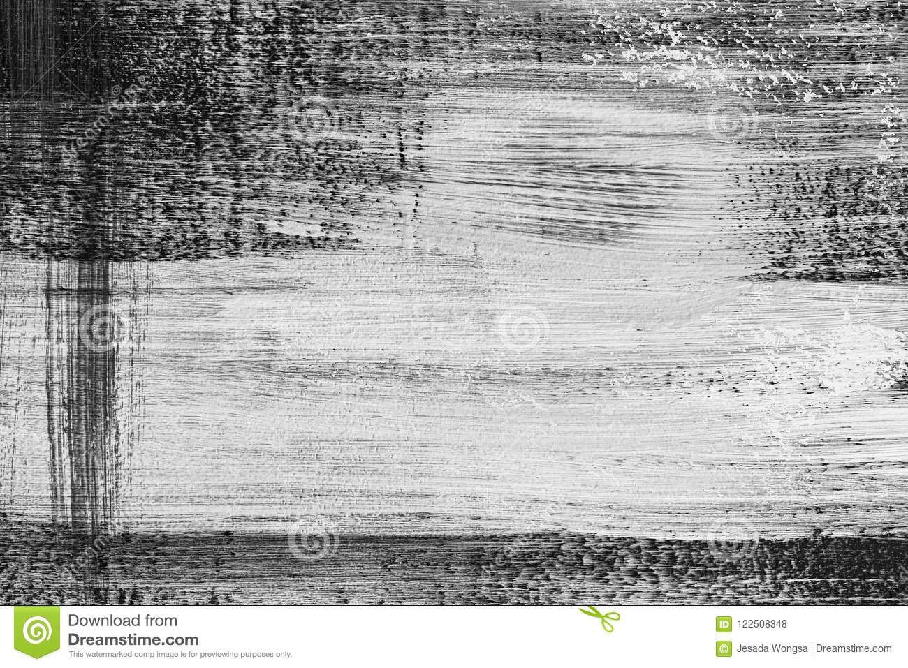 Black and white paint textured abstract high resolution texture for background