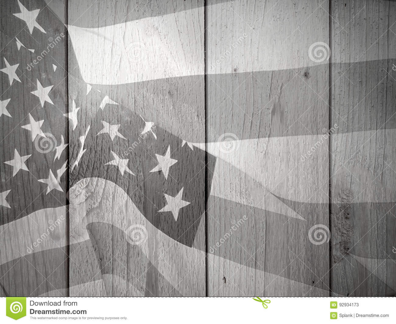 Black And White Patriotic Flag Background Stock Image Image Of