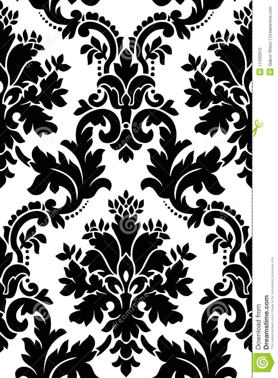 black and white pattern stock photo image 11450910. Black Bedroom Furniture Sets. Home Design Ideas