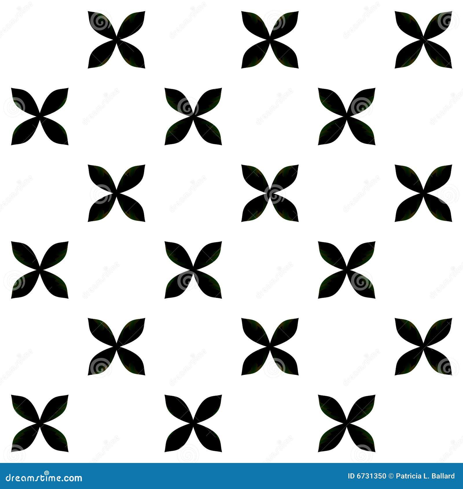 Black and White Pattern stock illustration. Illustration ...