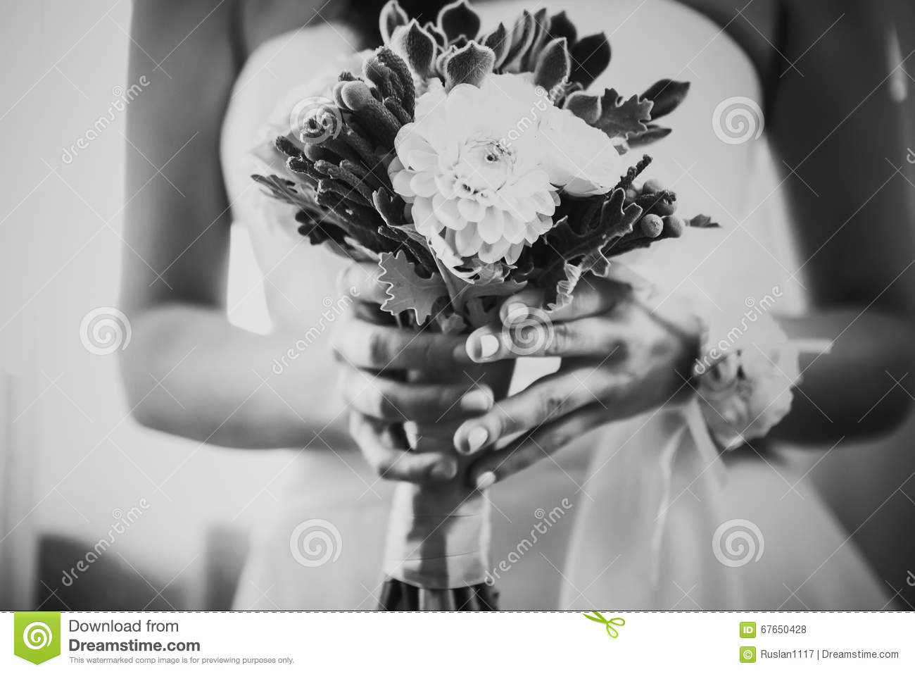 beautiful wedding flowers bouquet royalty free stock photography 51940883. Black Bedroom Furniture Sets. Home Design Ideas