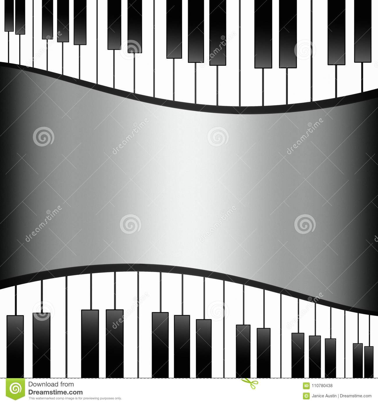 Piano Background Music: Black And White Piano Keys Background Wallpaper Template