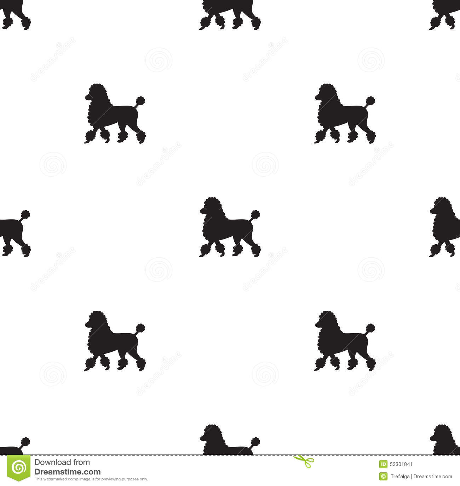 Dog Silhouette Clip Art Black And White