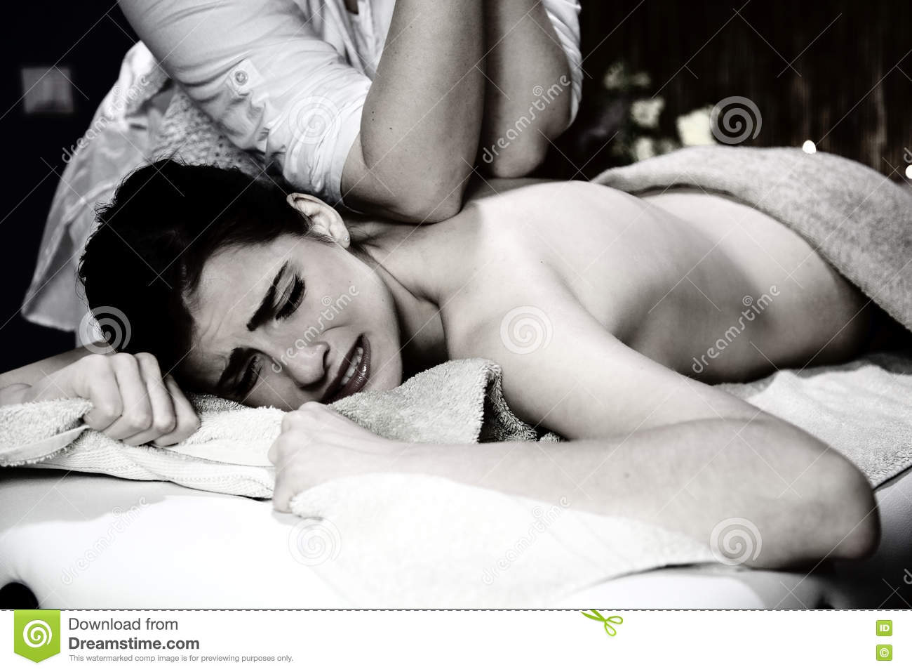Best of Black And White Massage
