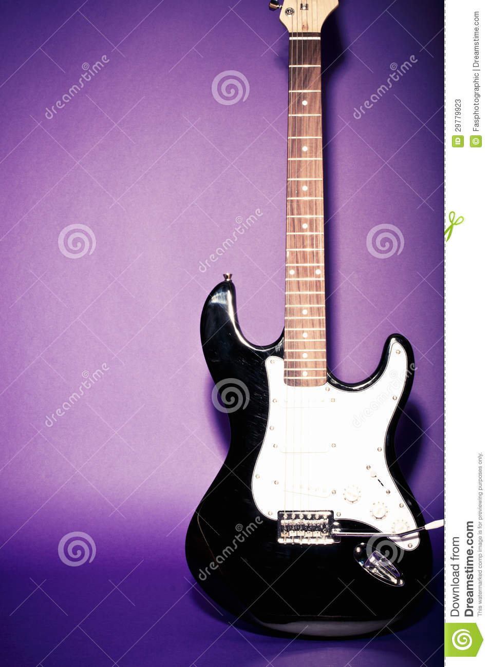 Retro Look Electric Guitar Stock Photos - Image: 29779923