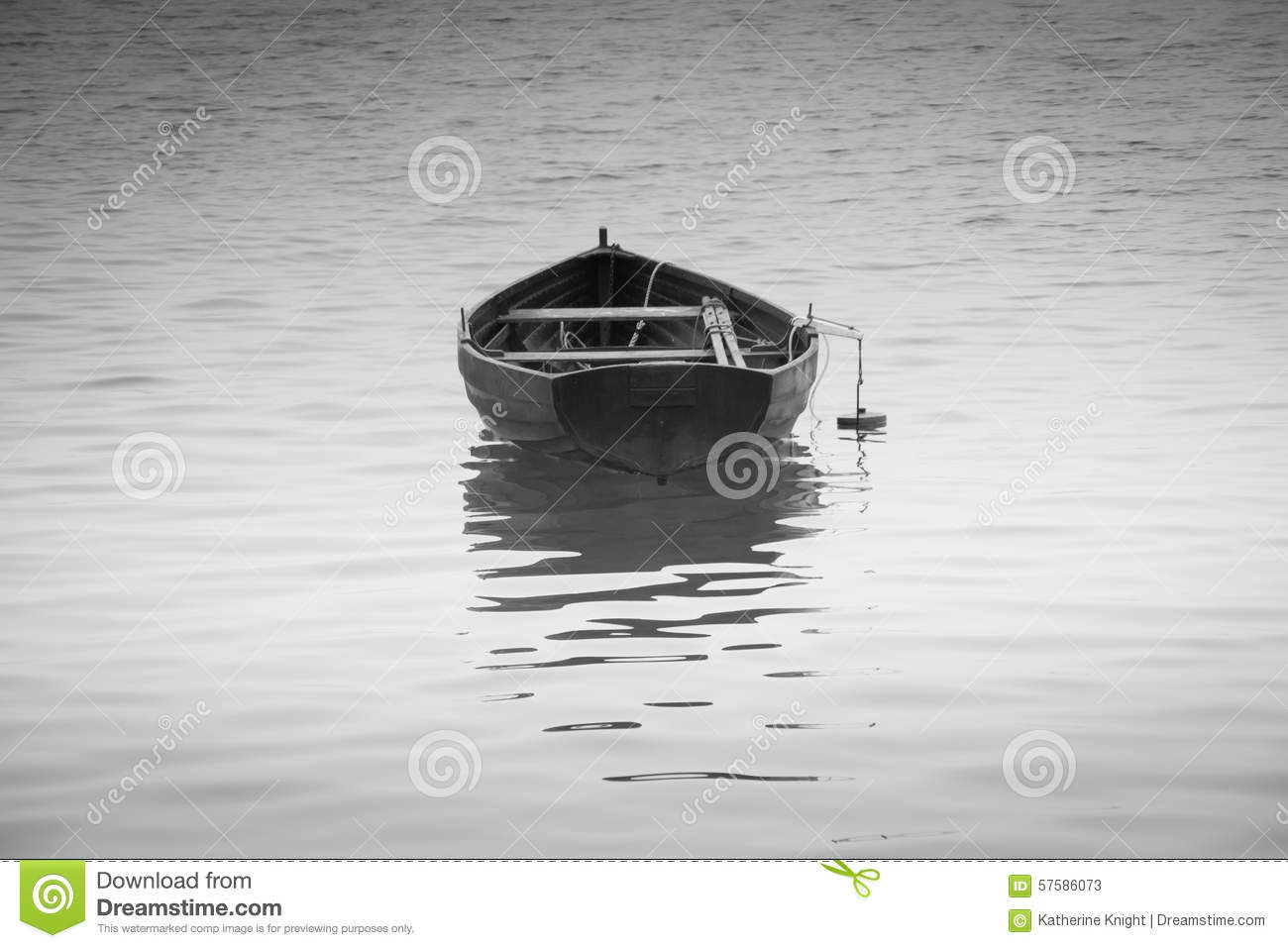 Water Reflection Photography Black And White Black and white rowing boat