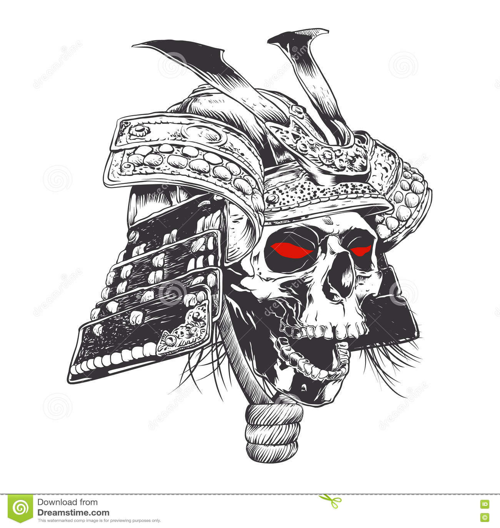 Samurai Face Paint